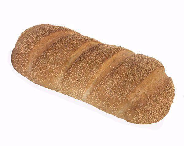 Vloerbrood wit sesam groot