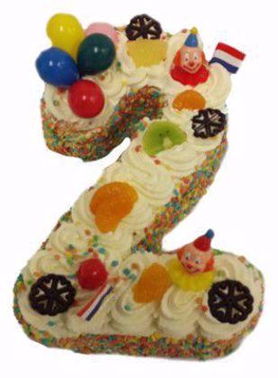 Afbeeldingen van Cijfer taart 2